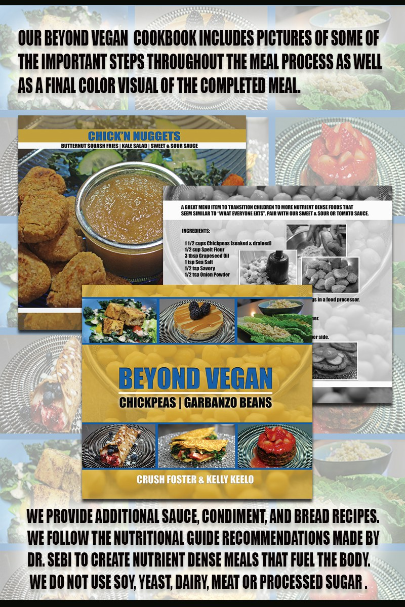 BEYOND VEGAN COOKBOOK | A HEALTHY CRUSH - BEYOND VEGAN
