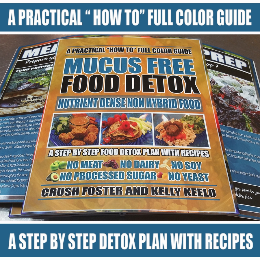 MUCUS FREE FOOD DETOX | A HEALTHY CRUSH - BEYOND VEGAN