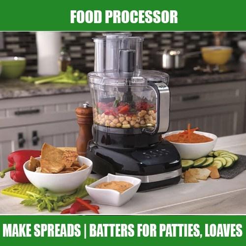 Electric Prep Kitchen: The Food Processor