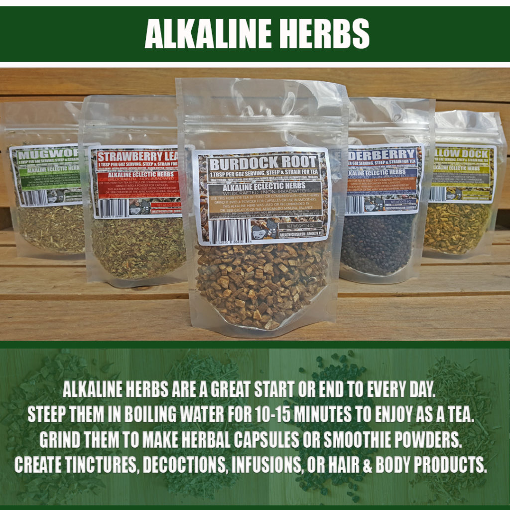 ALKALINE HERBS | A HEALTHY CRUSH - BEYOND VEGAN